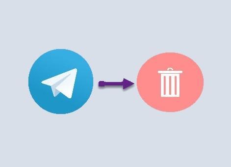 Telegram profilini o'chirish