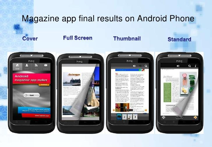Android App Book Maker dasturi yordamida APK kitobcha tayyorlash