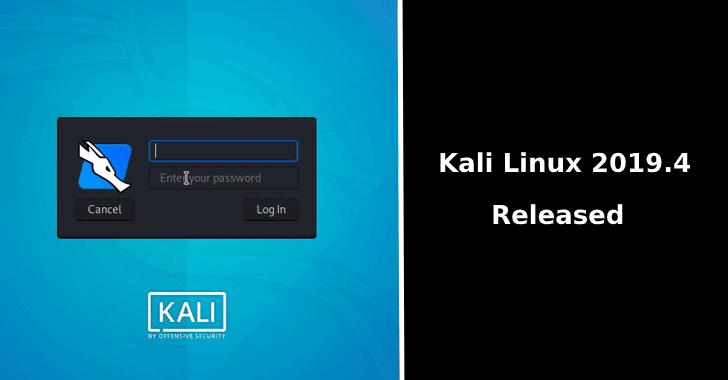Kali Linux operatsion tizimi