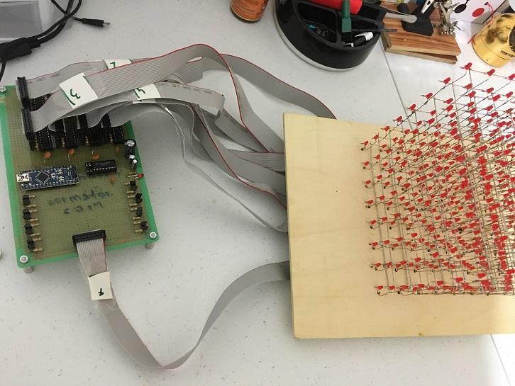 LED Cube 8x8x8  Arduinoda mo'jiza