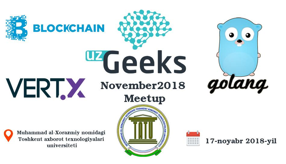 UzGeeks November2018 Meetup
