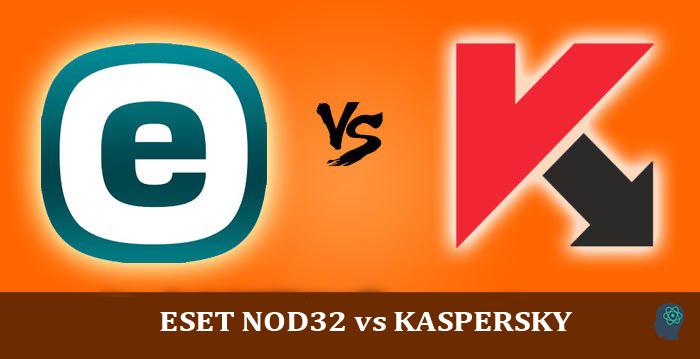 ESET NOD32 vs KASPERSKY