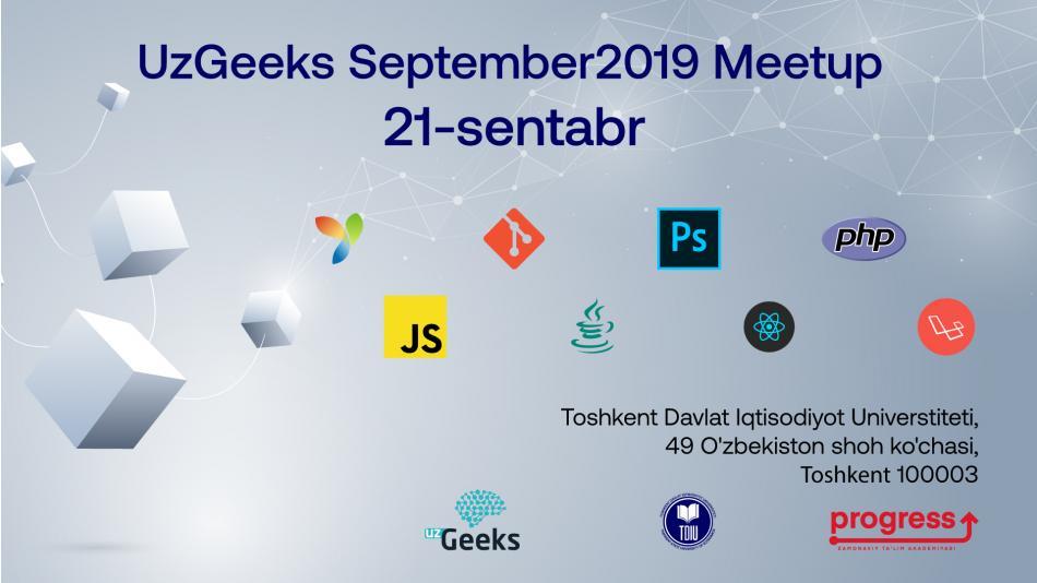 UzGeeks September2019 Meetup