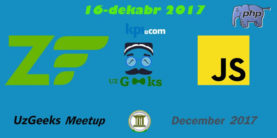TATUda UzGeeks December2017 Meetupi bo'lib o'tdi
