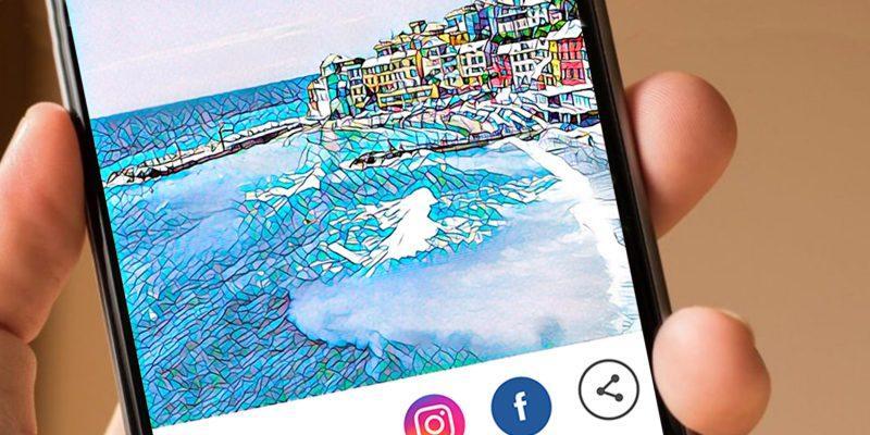 Android uchun Prisma dasturining rasmiy talqini!