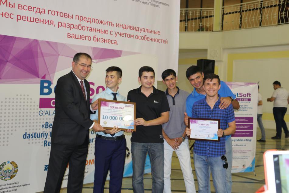 Best Soft Challenge — 2016 Respublika tanlovining tadirlash marosimi bo'lib o'tdi.