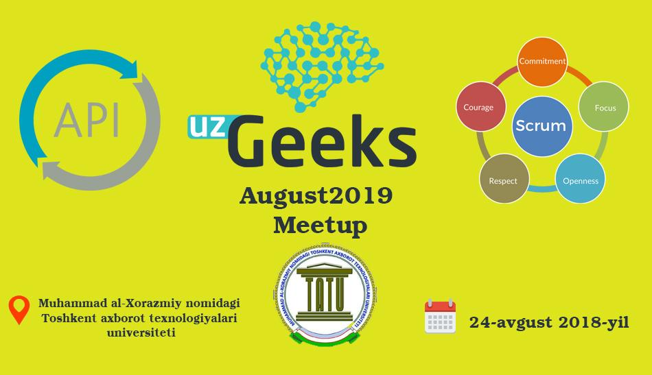 UzGeeks August2019 Meetup