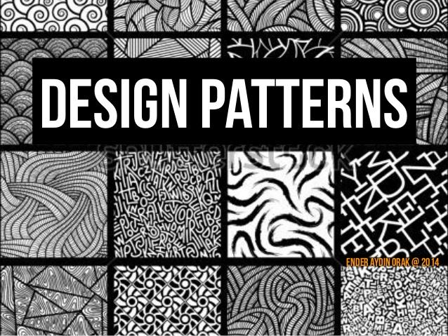 "Javada ""Design Pattern"" lar"