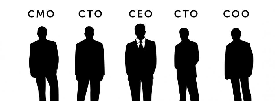 CEO. CTO. CMO. CIO ...