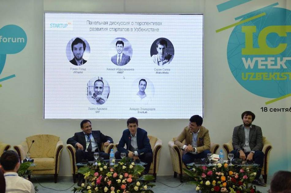 ICT Forum 2015 doirasida startaplarni rivojlantirish bo'yicha munozara
