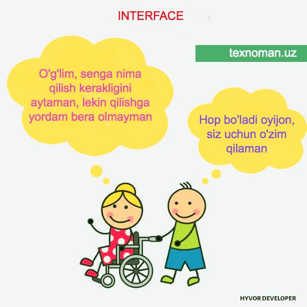 Interface - PHPda interfeyslar bilan ishlash