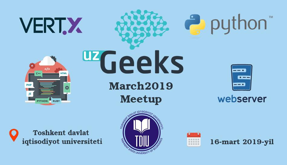 UzGeeks March2019 Meetup