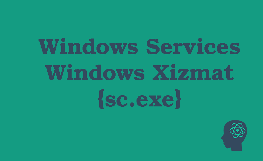 "Windows'da yangi ""windows service"" qo'shish"