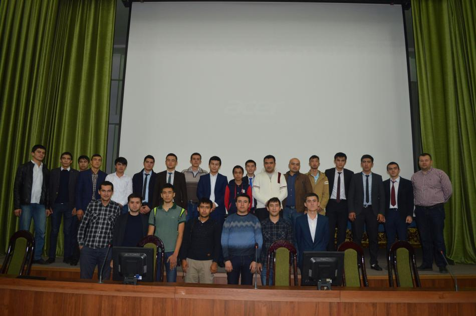 TATUda UzGeeks October2017 Meetupi bo'lib o'tdi
