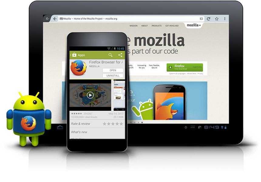 """""""Android uchun Firefox""""ning 37-beta versiyasiga o'zbek tili qo'shildi"""